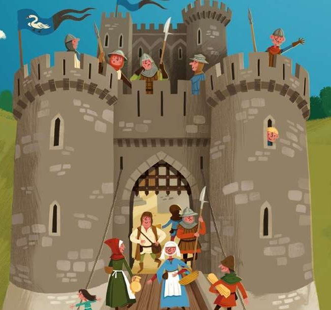 Make your own model of the Great Tower at Dover Castle.